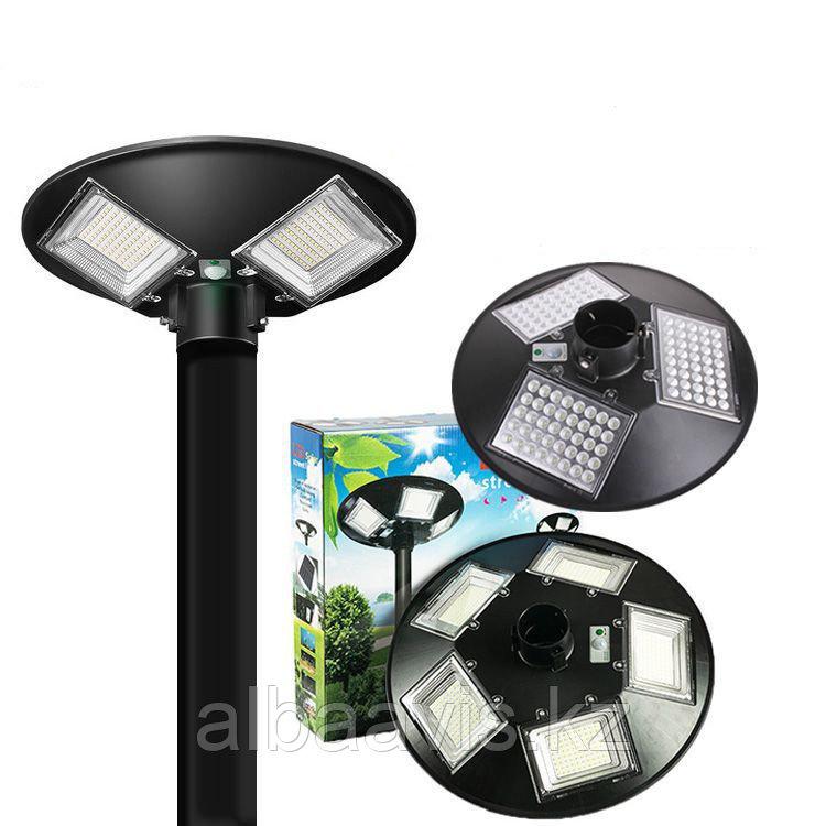 Светильник парковый уличный на солнечной батарее 200 ватт. Светильник на опору для аллей, светильники для улиц