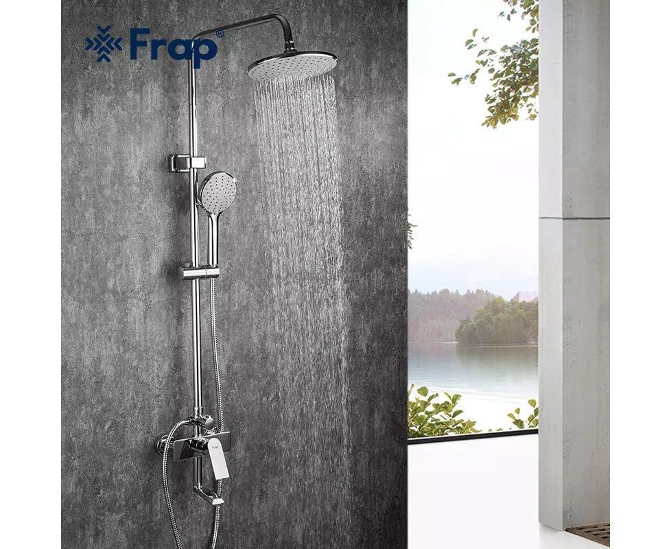 Душевая стойка с тропическим душем Frap 2428