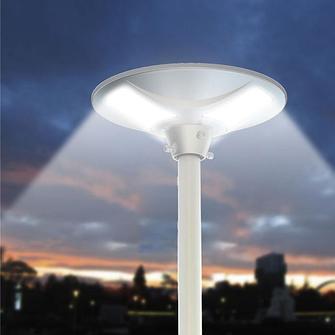 Светильники парковые уличные на солнечной батарее