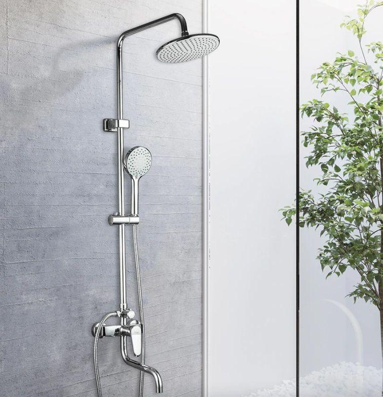 Душевая стойка с тропическим душем Frap 2427