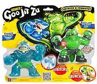 Гуджитсу 37336 Игр.набор тянущихся фигурок Траш и Рок Джо. ТМ GooJitZu