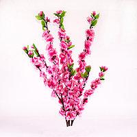 Сакура цветущая (розовая), 60см., тканевая
