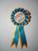 Значок Выпускник детского сада/Балабкша тулегы с розеткой ромашка