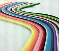 Квилинг Бумажные Ленты 10 цв 5мм + инструмент №189