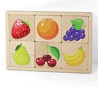 """Игра развивающая деревянная """"Фрукты,ягоды"""""""