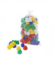 """Конструктор """"Юниор"""" (51 элемент) Полесье, цвет разноцветный, размер 165x135x275 мм"""