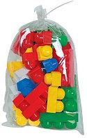 """Конструктор """"Юниор"""", 33 элемента Полесье, цвет разноцветный, размер 155x125x230 мм"""