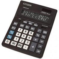 Калькулятор настольный Citizen Business Line CDB 16 разрядный двойное питание 157*200*35мм черный