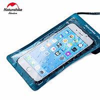 Водонепроницаемый чехол для телефона с сенсорным экраном (черный/синий/серый) Naturehike NH20SM003