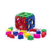 Логическая игра сортер Кубик большой 40-0010