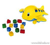 Логическая игрушка Самолет Кит У494