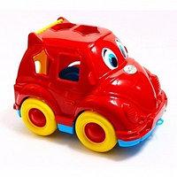 Логическая игрушка сортер автомобиль Жук 23х15,5х16см Орион