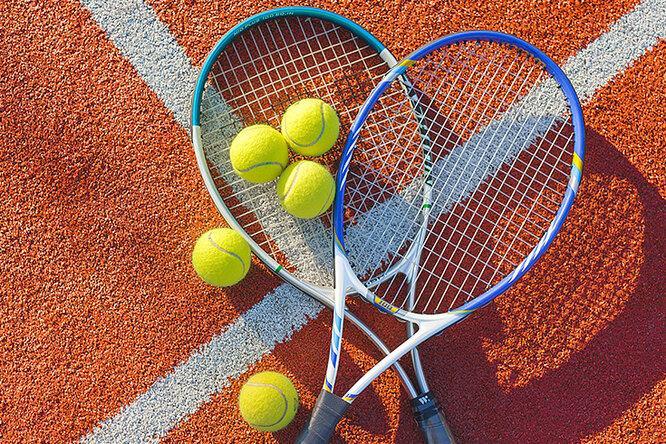 Ракетка для большого тенниса с чехлом