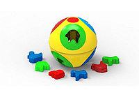 Логическая игрушка сортер Умный малыш Шар 2 ТехноК Арт3237