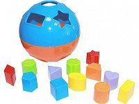 """Логическая игрушка сортер""""Умный шар"""" диаметр 15 см"""