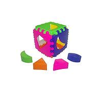 Куб логический маленький И-5771 8*8см