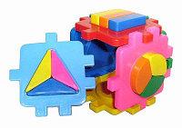 Куб логический сортер 3 (маленькие вставки)