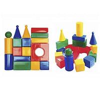 Кубики выдувные Строительный набор Стена-2 ,18эл