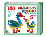 Мозаика магнитная 100 шестигранных фишек 5 цв Десятое королевство