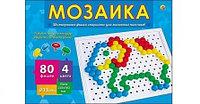 Мозаика пластиковая, шестигранная, 80 фишек, диаметр 13 мм Рыжий кот, размер 615x420x175 мм