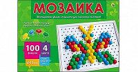 Мозаика шестигранная 100 фишек 4 цв Рыжий кот