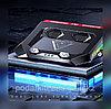 """Игровая подставка-кулер для ноутбука 18""""  с боковой RGB подсветкой, фото 5"""