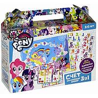 Настольная обучающая игра My Little Pony Счет 3 в 1