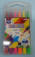 Набор фломастеров Color pen 12 цветов 195