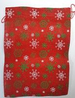 Новогодний мешок для подарков 30*40