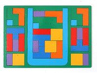 Обучающая игра Оксва Головоломка Тетрис, размер 295х210х5, мм