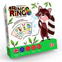 """Настольная игра """"Bingo Ringo"""" рус-англ"""