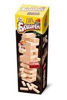 Настольная игра Дженгобум с деревянными брусками