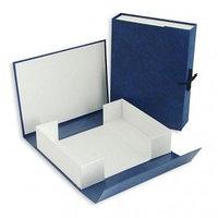 Папка-коробка архивный 70 мм. синий цв.Ассорти Сиббланкоиздат
