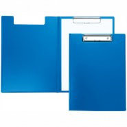 Папка-планшет с зажимом Berlingo А4, пластик, синий