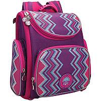 Ранец школьный+мешок Гризли RA-871-6 фиолетовый