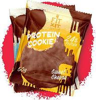 Протеиновое печенье FIT KIT Protein Chocolate Cookie 50 г 1 порция