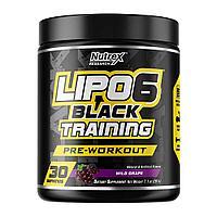 Nutrex Lipo-6 Black Training Pre Workout 195 гр