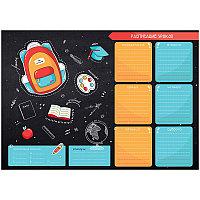 """Расписание уроков с расписанием звонков A3 ArtSpace, """"Пиши-стирай. Draw it""""Расписание уроков с распи"""