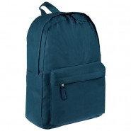 Рюкзак ArtSpace Simple Street, 38*28*15см, 1 отделение, 1 карман, зелёный