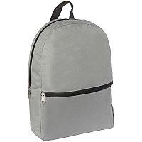 Рюкзак ArtSpace Simple, 37*28*11см, 1 отделение, 1 карман, серый SI_16967