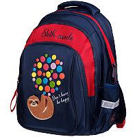 """Рюкзак Berlingo Comfort """"Sloth mode"""" 38*27*18см, 3 отделения, 3 кармана, эргономичная спинка"""