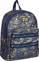 """Рюкзак Berlingo Fashion """"Golden fish"""" 37*28*15см, 1 отделения, 2 кармана, уплотненная спинка"""