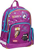 """Рюкзак Berlingo Light """"Nice owls"""" 42*28*17см, 2 отделения, 3 кармана, эргономичная спинка"""