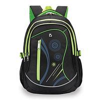 Рюкзак BRAUBERG для старших классов/студентов/молодежи, Неон , 30 литров, 46х34х18 см, 225520