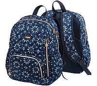 Рюкзак deVENTE 39x34x13 см, текстиль, тёмно-синий