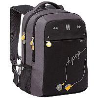 Рюкзак Grizzli 29*40*20 см 2 отделения 3 кармана анатомическая спинка