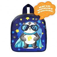 Рюкзак Светлячок панда 20*22*8 см Luris Ассорти