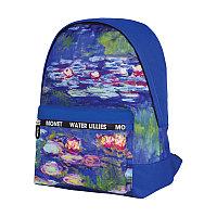 Рюкзаки Berlingo ART Водяные лилии 40*29*16 см 1 отделение 1 карман PU покрытие