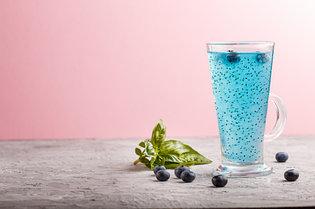 Напитки с семенами базилика