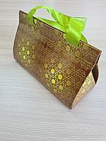 Пакет-коробка размеры 17,5*7,5*10 см